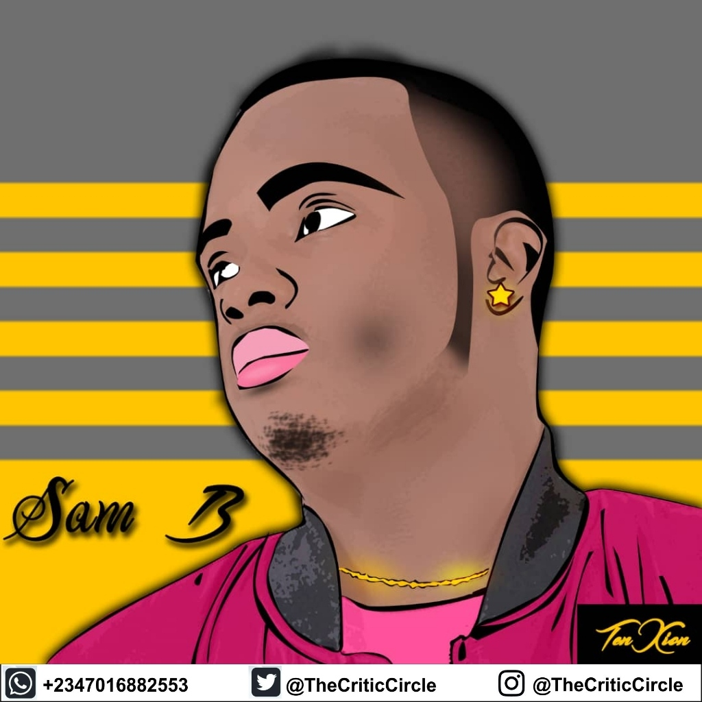Sam B - Need a Girl (Promotional Art Cover)  By The Critic Circle