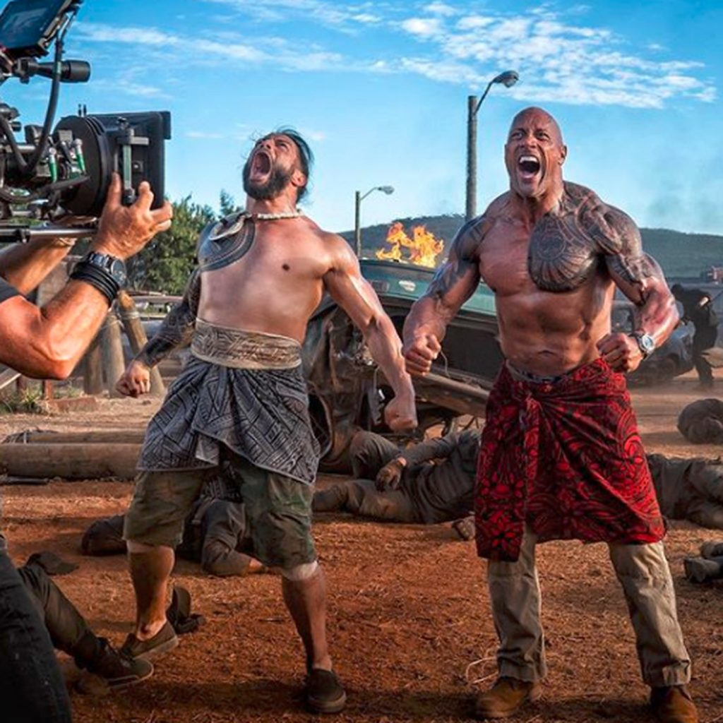 WWE Superstar Roman Reigns Makes Movie Debut Alongside His Cousin, The Rock. (See Details)
