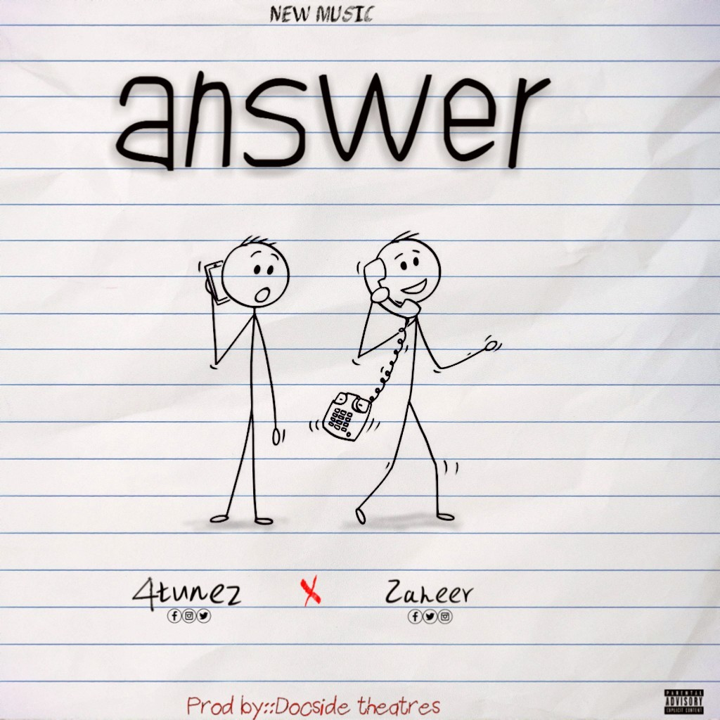 4tunez feat Zaheer - Answer [Download