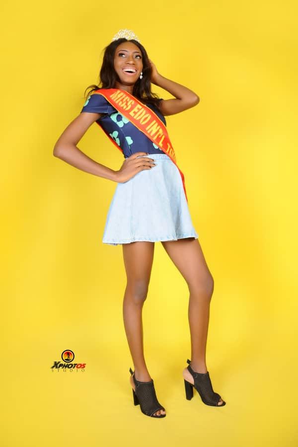 Precious Okosun, Model