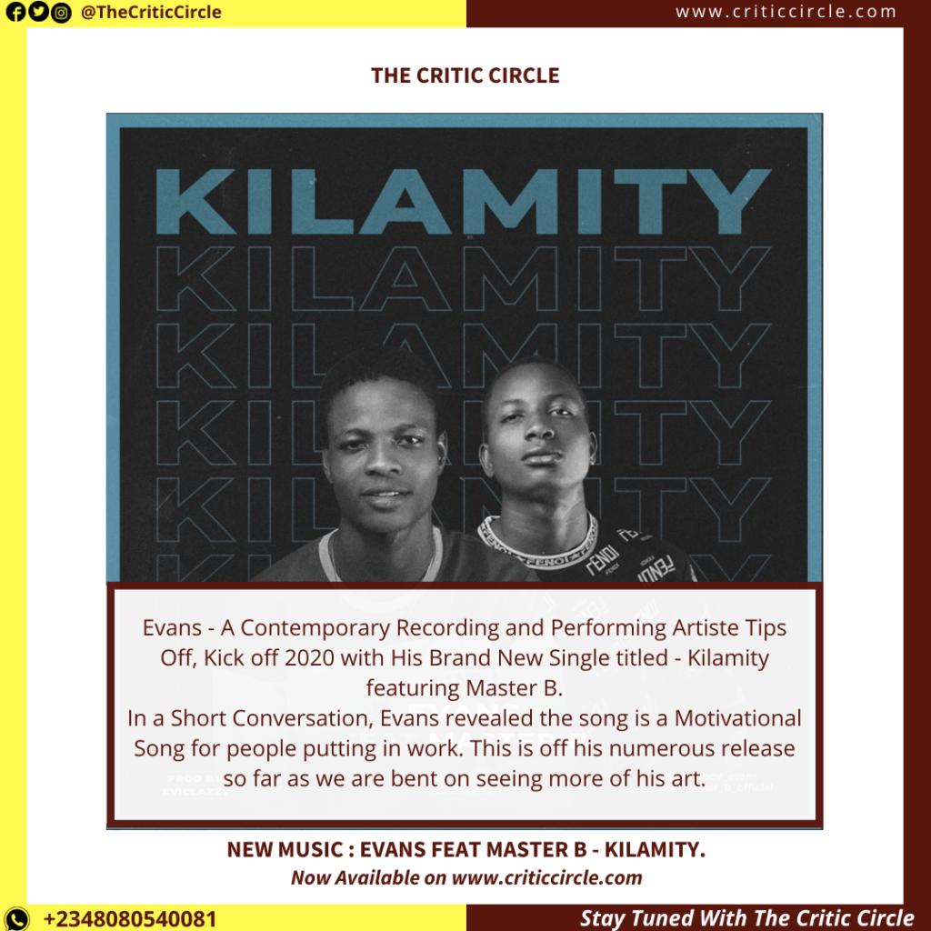 Evans - Kilamity