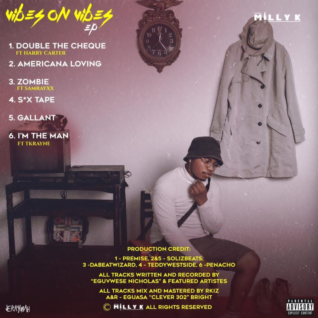 MILLY K - VIBES ON VIBES EP TRACKLIST