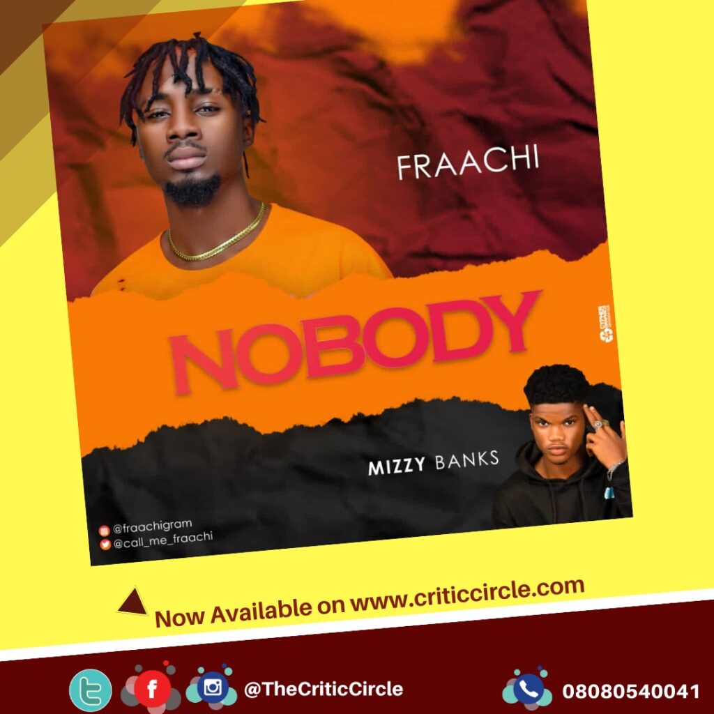 Afropop: Fraachi feat Mizzy Banks - Nobody [Download Mp3]