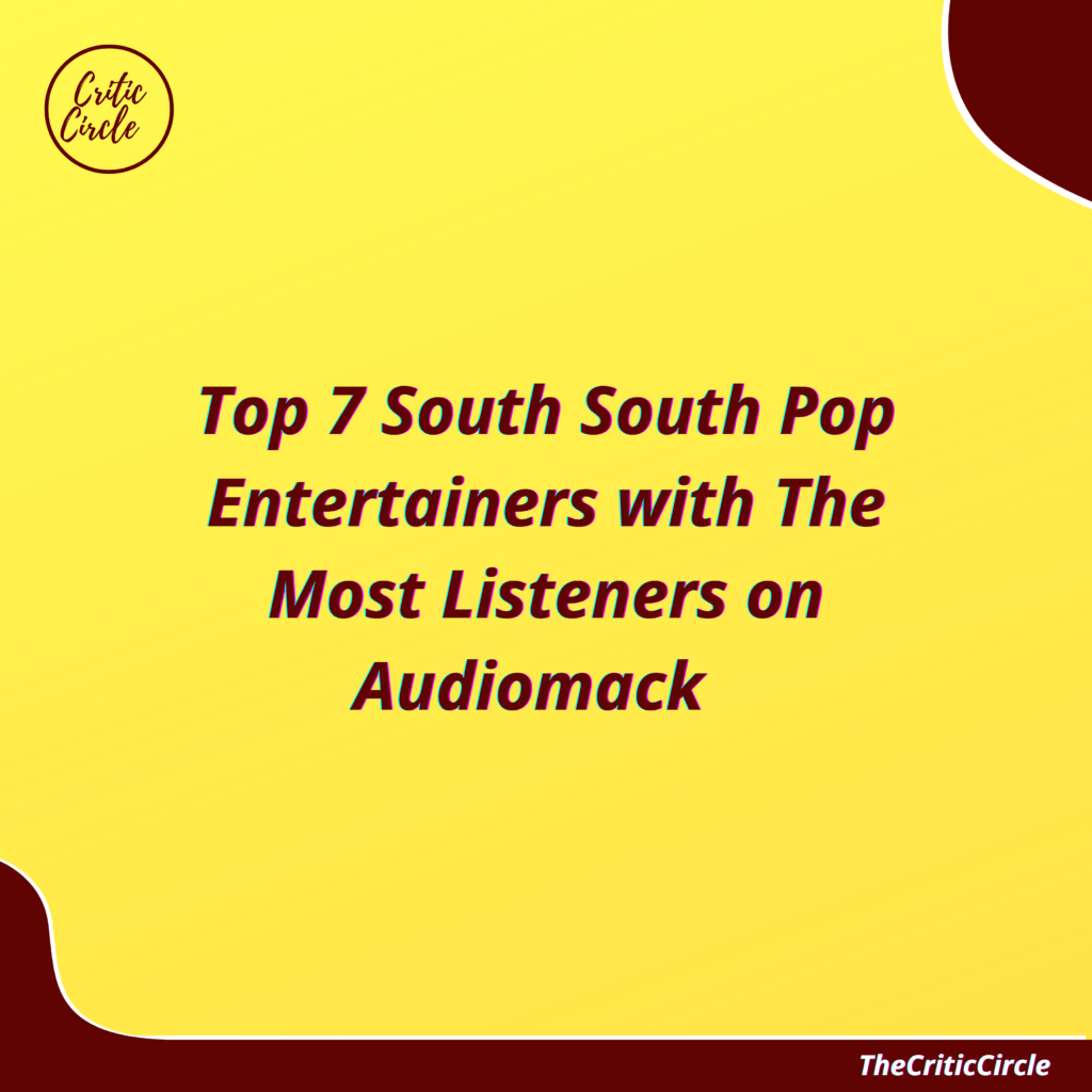 Top 7 South South Pop Artiste(s) With The Most Listeners on Audiomack [See Details]