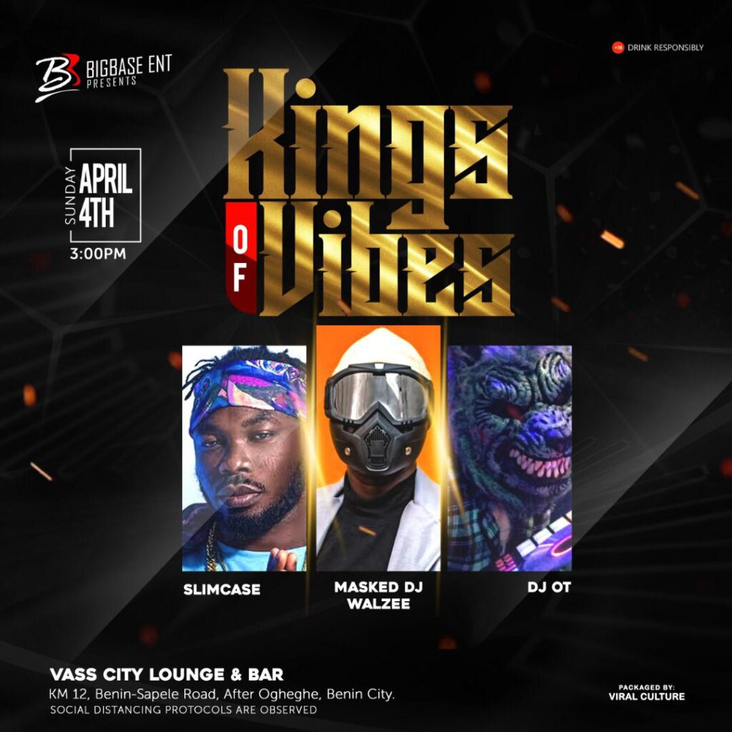 Invite: DJ Walzee Wants You To Turn Up For KINGS OF VIBES [See Details]