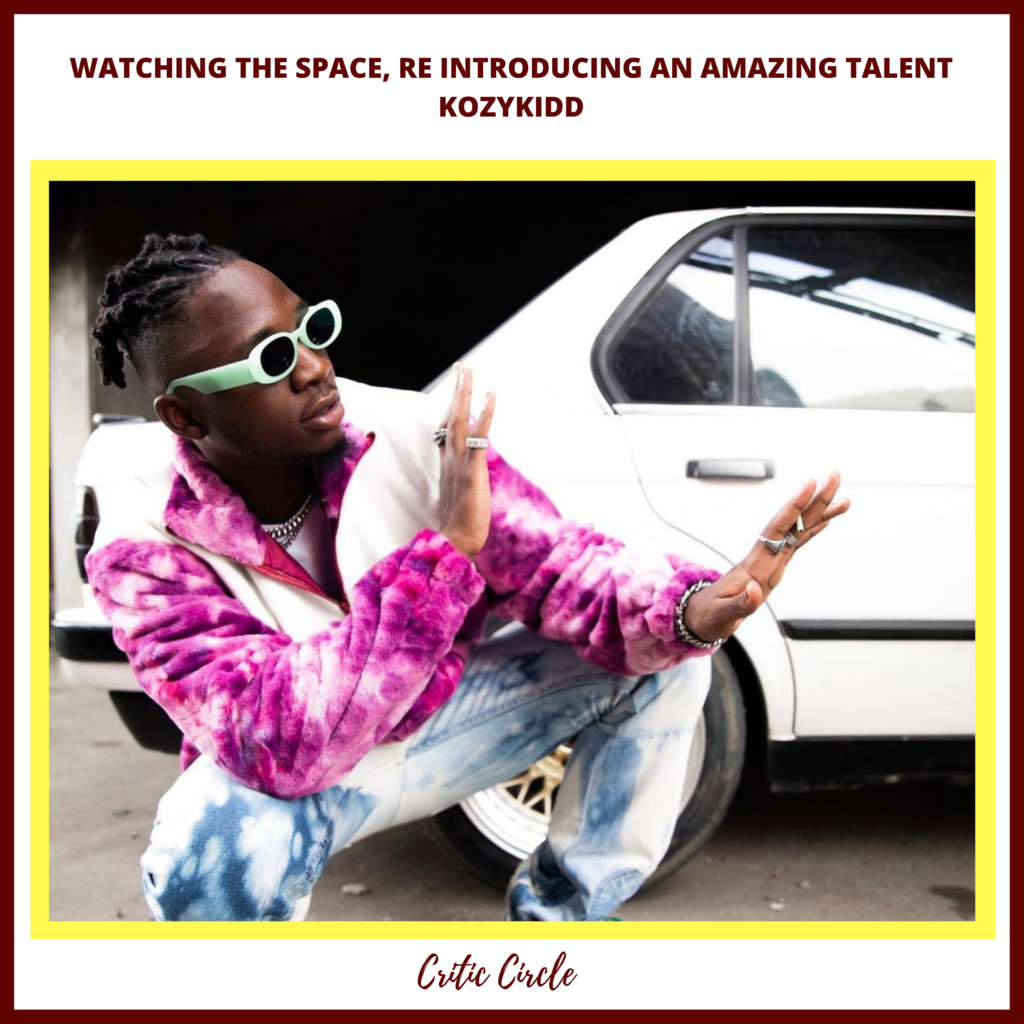 Pop Culture: Reintroducing An Amazing Talent - KOZYKIDD [See Details]
