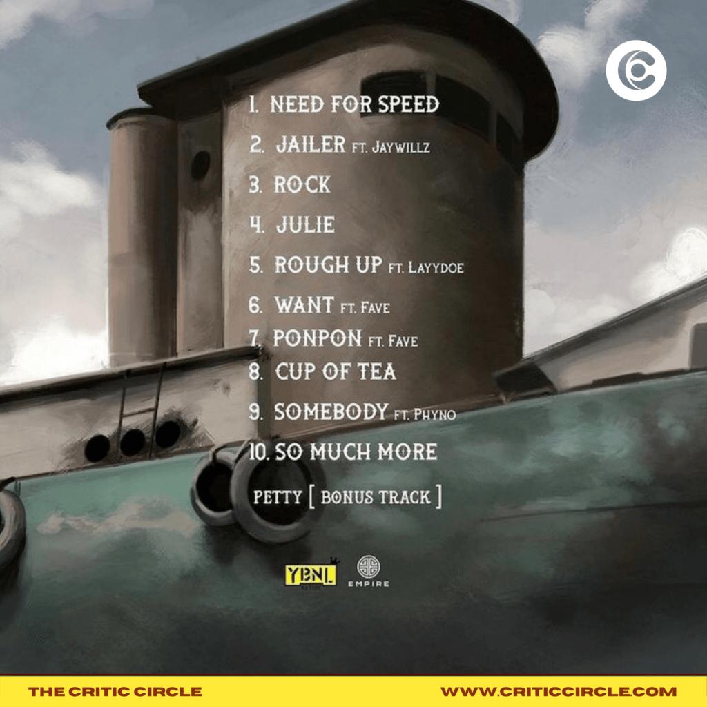 Olamide Unveils Track List For Unreleased Album - UY Scuti   Critic Circle